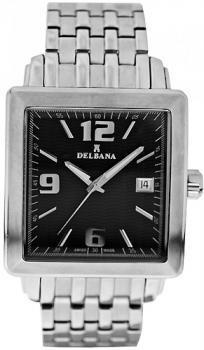 Zegarek męski Delbana 467.502BLK