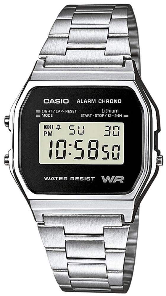 zegarek Casio A158WEA-1EF - zdjęcia 1