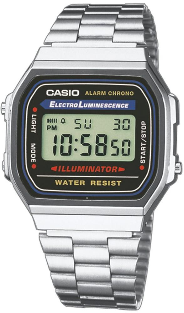 zegarek Casio A168WA-1YES - zdjęcia 1