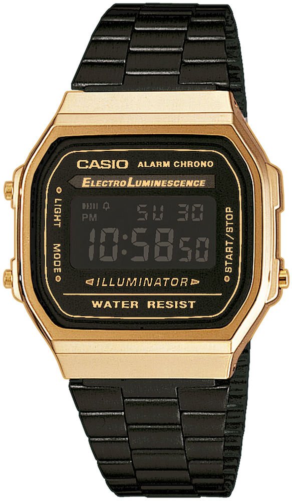 zegarek Casio A168WEGB-1BEF - zdjęcia 1