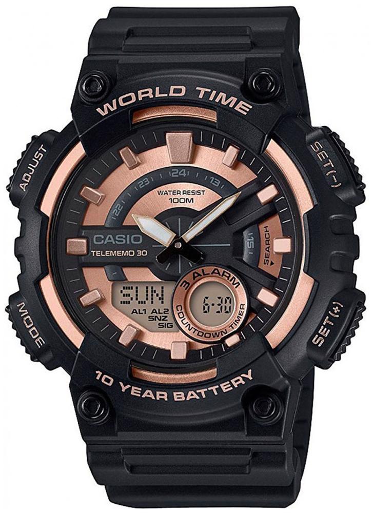 zegarek Casio AEQ-110W-1A3VEF - zdjęcia 1