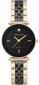 Zegarek damski Anne Klein AK-3158BKGB