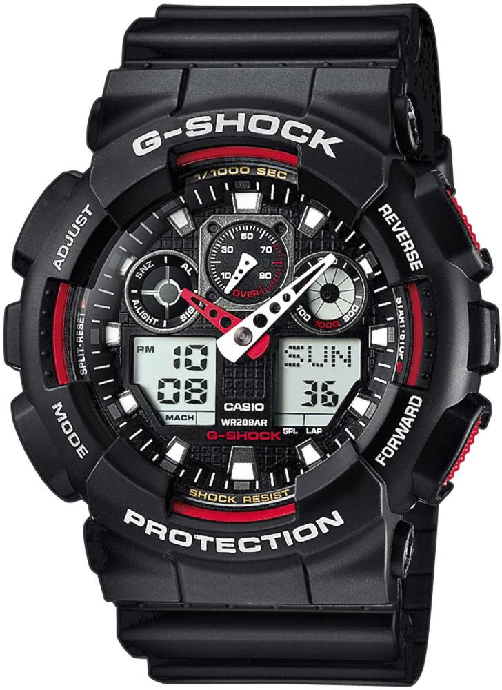 zegarek Casio GA-100-1A4ER - zdjęcia 1