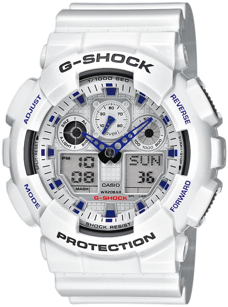 zegarek Casio GA-100A-7AER - zdjęcia 1