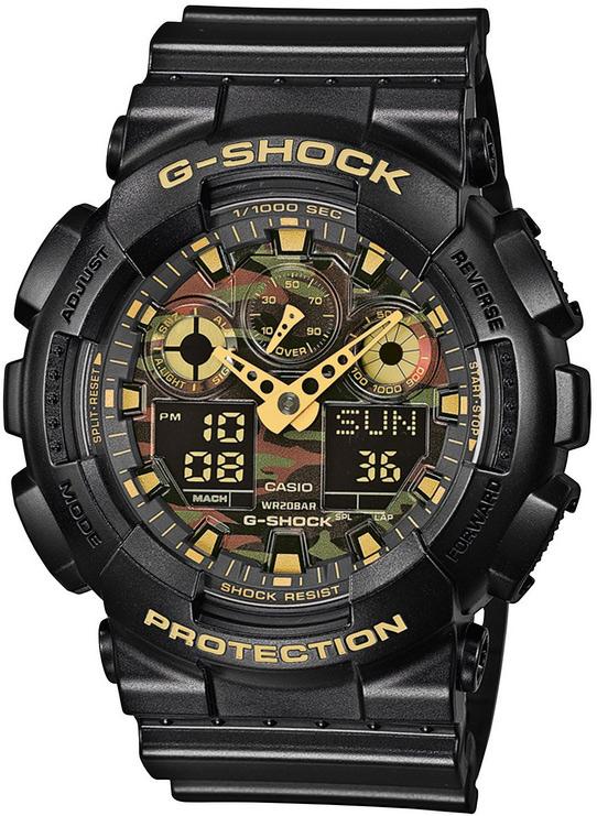 zegarek Casio GA-100CF-1A9ER - zdjęcia 1