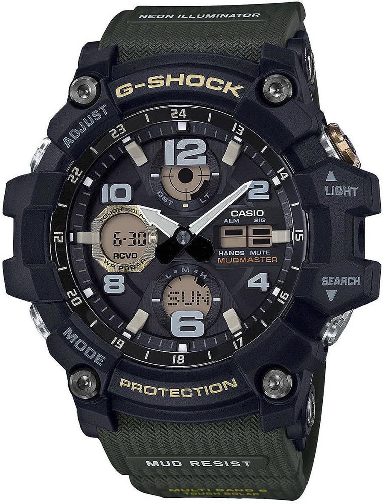 zegarek Casio GWG-100-1A3ER - zdjęcia 1