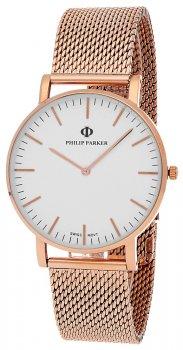 Zegarek męski Philip Parker PPMN010RG2