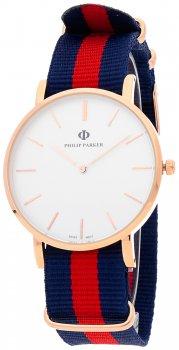 Zegarek męski Philip Parker PPNY001RG1