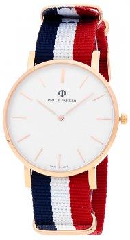 Zegarek męski Philip Parker PPNY004RG1