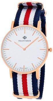 Zegarek męski Philip Parker PPNY007RG2