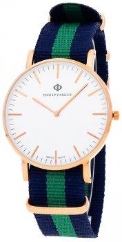 Zegarek męski Philip Parker PPNY008RG2