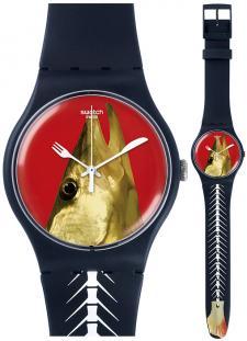 Zegarek unisex Swatch SUON111