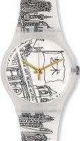 Zegarek unisex Swatch SUOZ197