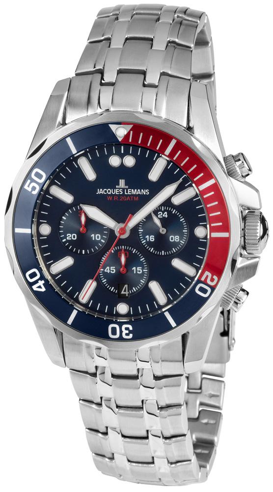 zegarek Jacques Lemans 1-1907ZF - zdjęcia 1