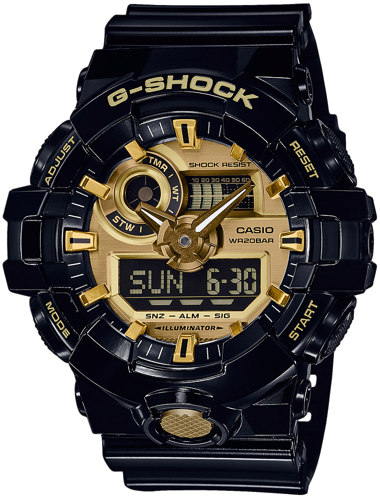 zegarek Casio GA-710GB-1AER - zdjęcia 1
