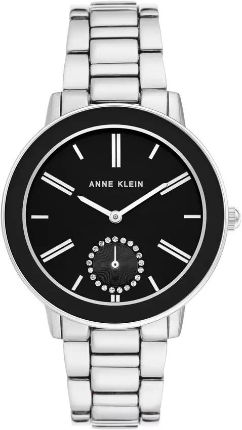 zegarek Anne Klein AK-3485BKSV - zdjęcia 1
