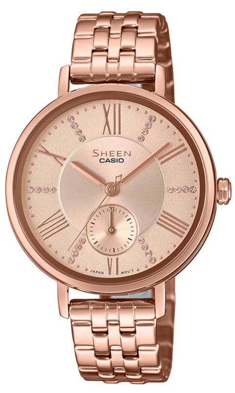 zegarek Casio SHE-3066PG-4AUEF - zdjęcia 1