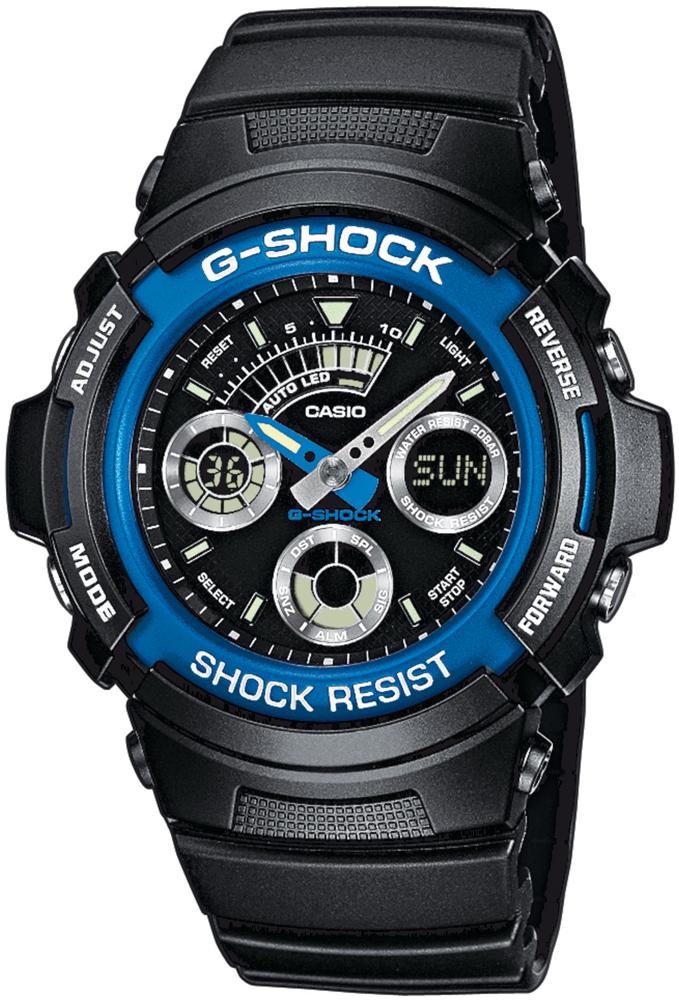 zegarek Casio AW-591-2AER - zdjęcia 1