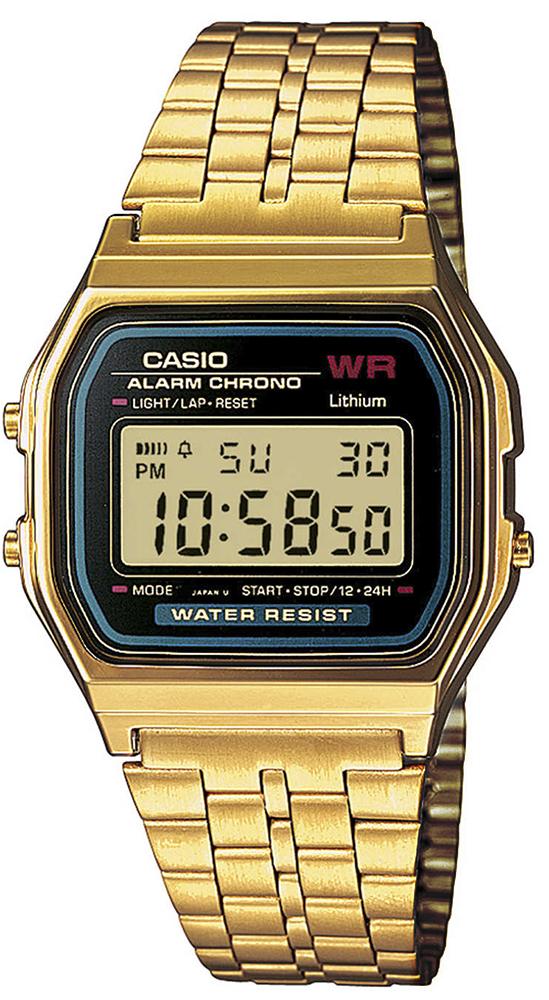 zegarek Casio A159WGEA-1EF-POWYSTAWOWY - zdjęcia 1