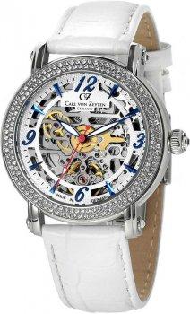 Zegarek damski Carl von Zeyten CVZ0061WH