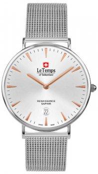 Zegarek męski Le Temps LT1018.46BS01