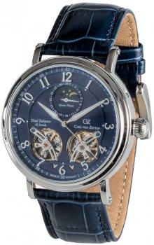 Zegarek męski Carl von Zeyten CVZ0054BL/SZAF