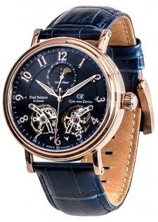 Zegarek męski Carl von Zeyten CVZ0054RBL