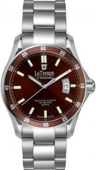 Zegarek męski Le Temps LT1078.16BS01