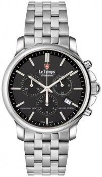 Zegarek męski Le Temps LT1057.12BS01