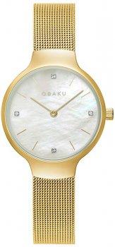 Zegarek damski Obaku Denmark V241LXGWMG