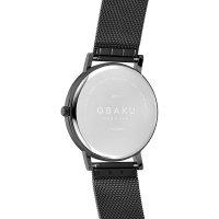 Zegarek  Obaku Denmark V248GXBBMB - zdjęcie 2